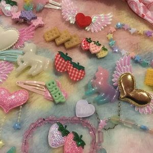Kawaii cute lolita fairy kei accessory bundle lot